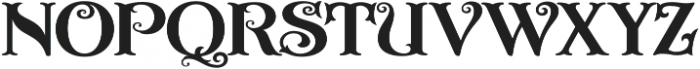 ASU Casino Regular otf (400) Font LOWERCASE