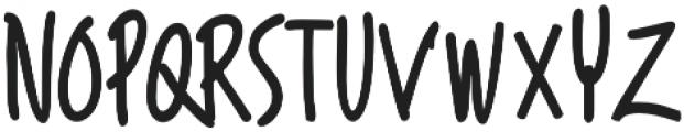 Asaina Bold otf (700) Font LOWERCASE