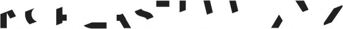 Asans Front otf (400) Font LOWERCASE