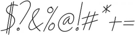 Ascendia Regular ttf (400) Font OTHER CHARS
