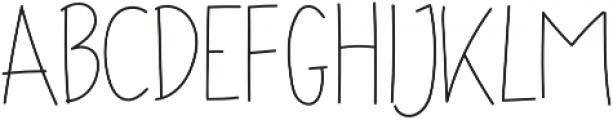 Ascendia otf (400) Font UPPERCASE