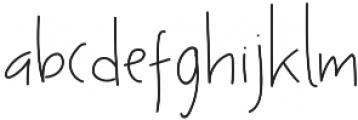 Ascendia otf (400) Font LOWERCASE