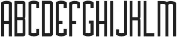Asche otf (400) Font UPPERCASE