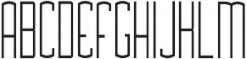 Asche ttf (300) Font UPPERCASE