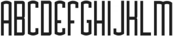 Asche ttf (400) Font UPPERCASE