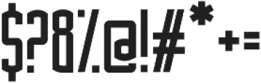 Asche ttf (700) Font OTHER CHARS