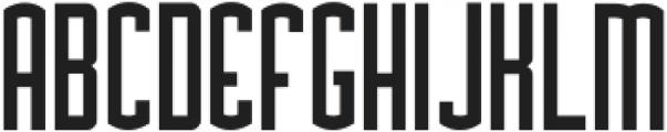 Asche ttf (700) Font UPPERCASE