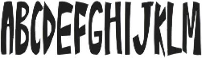 Ascopral otf (400) Font UPPERCASE