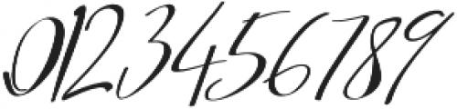 Asgard Slant otf (400) Font OTHER CHARS