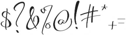 Asgard otf (400) Font OTHER CHARS