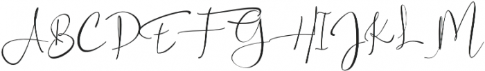 Asgard otf (400) Font UPPERCASE