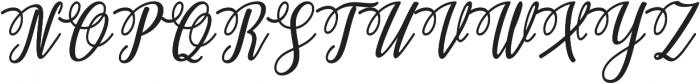 Ashburton otf (400) Font UPPERCASE