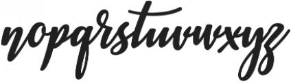 Ashburton otf (400) Font LOWERCASE