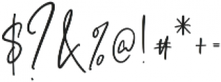 Ashcroft Alt otf (400) Font OTHER CHARS