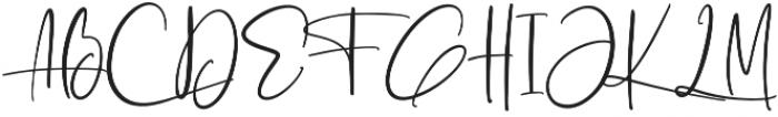 Ashcroft Alt otf (400) Font UPPERCASE