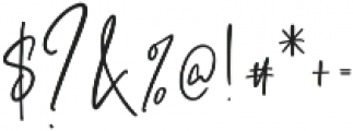 Ashcroft otf (400) Font OTHER CHARS
