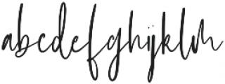 Ashcroft otf (400) Font LOWERCASE