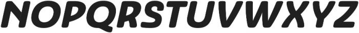 Ashemore Soft Ext Black Ital otf (900) Font UPPERCASE