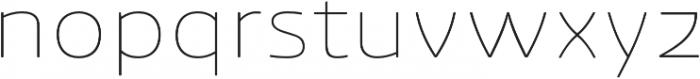 Ashemore Soft Ext Thin otf (100) Font LOWERCASE