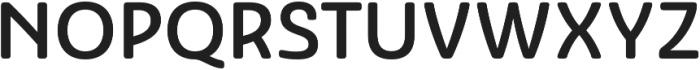 Ashemore Soft Norm Medium otf (500) Font UPPERCASE