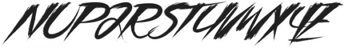 Asia Otasi Capital otf (400) Font UPPERCASE