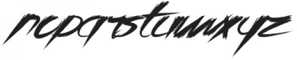 Asia Otasi Usual otf (400) Font LOWERCASE