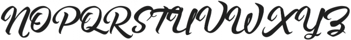 Asiyah Script otf (400) Font UPPERCASE
