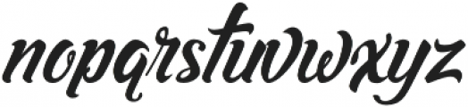 Asiyah Script otf (400) Font LOWERCASE