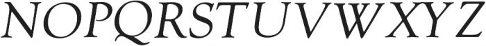 Askery Thin Italic otf (100) Font UPPERCASE