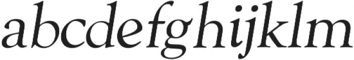 Askery Thin Italic otf (100) Font LOWERCASE