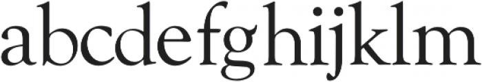 Askery Thin otf (100) Font LOWERCASE