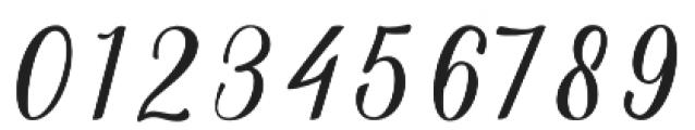 Aslang Barry Regular otf (400) Font OTHER CHARS