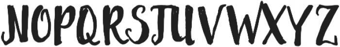 AslyBrush ttf (400) Font UPPERCASE