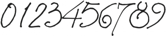 Asman ttf (400) Font OTHER CHARS