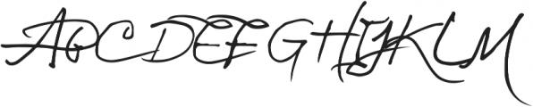 Asman ttf (400) Font UPPERCASE