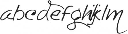 Asman ttf (400) Font LOWERCASE