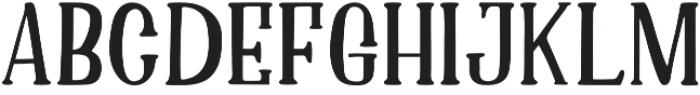 Asmara  Regular otf (400) Font UPPERCASE