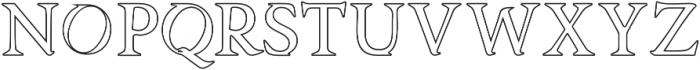 Asmath Regular otf (400) Font UPPERCASE