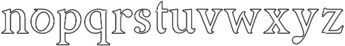 Asmath Regular otf (400) Font LOWERCASE
