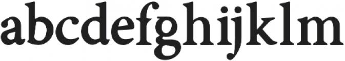 Asmath otf (700) Font LOWERCASE