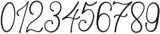 Asmelina Harley Regular otf (400) Font OTHER CHARS