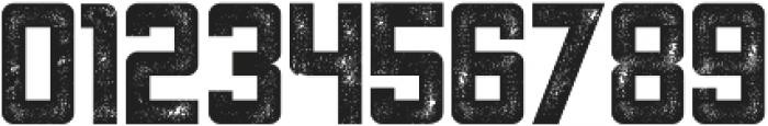 Asphalt otf (400) Font OTHER CHARS