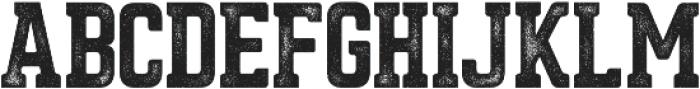 Asphalt otf (400) Font UPPERCASE