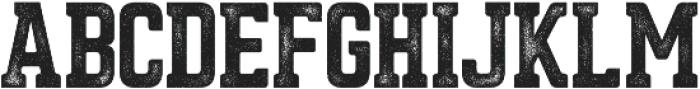 Asphalt otf (400) Font LOWERCASE