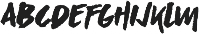 Asphalts Display ttf (400) Font UPPERCASE