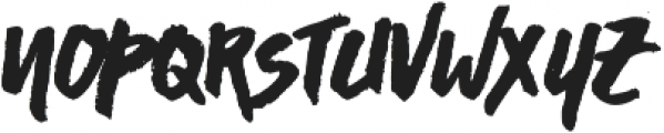 Asphalts Display ttf (400) Font LOWERCASE