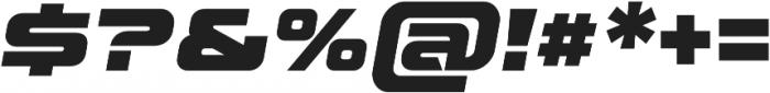 Aspire Black Oblique otf (900) Font OTHER CHARS