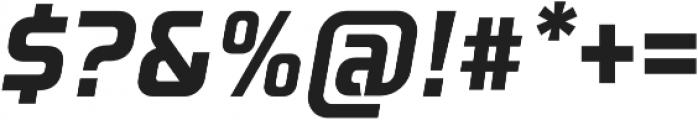 Aspire Narrow Oblique otf (400) Font OTHER CHARS