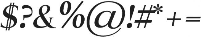 Assassin regular-italic otf (400) Font OTHER CHARS