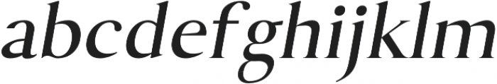 Assassin regular-italic otf (400) Font LOWERCASE